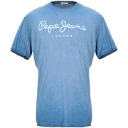 T-shirt pepe jeans homme. bleu d'azur. xs...
