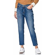 7 for all mankind roxanne ankle jeans, bleu...
