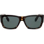 Ray-ban lunettes de soleil nomad wayfarer - marron