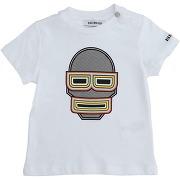 T-shirt bikkembergs garçon. blanc. 24 - 6 - 9...