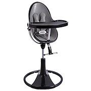 Chaise haute fresco chrome black/skin grey bloom