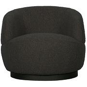 Woolly - fauteuil en tissu bouclette