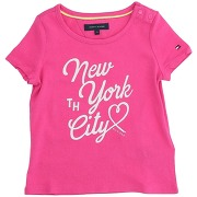 T-shirt tommy hilfiger fille. fuchsia. 6...