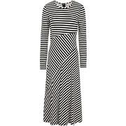 Elv stripe smd ls dress robe mi-longue michael...