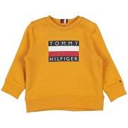 Sweat-shirt tommy hilfiger garçon. ocre. 6...