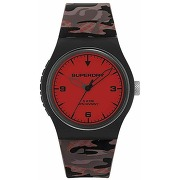 Superdry montre hommes avec camouflage silicone...