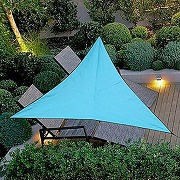 Warooma voile d'ombrage triangulaire 3 m x 3 m...