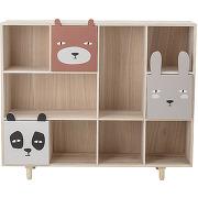 Calle - bibliothèque enfant en bois 107x89,5cm