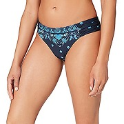Seafolly sunflower border ruched side retro bas...