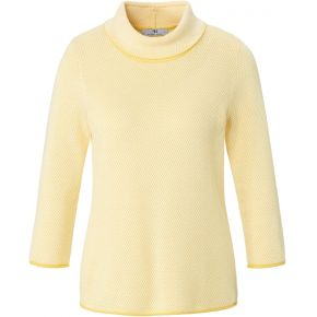 Le pull 100% coton peter hahn jaune taille 48