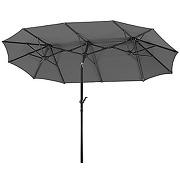 Schneider 746-15 parasol salerno rectangulaire,...