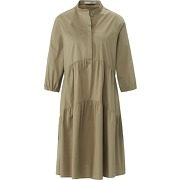 La robe manches 3/4 oui vert taille 42