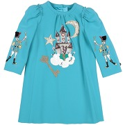 Robe fille dolce & gabbana fille. turquoise. 3...