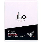 Jho tampons tampons avec applicateur compact -...