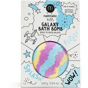 Nailmatic bain kids bleu , jaune, rose galaxy