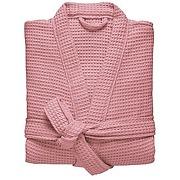 Peignoir femme col kimono en coton, esprit nid...