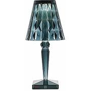 Kartell big battery, lampe de table, bleu,...