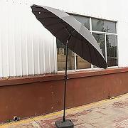 Parasol varangue rond 2,50m inclinable - saÏgon...