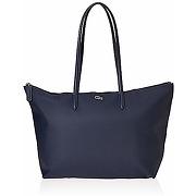 Lacoste nf1888, sac bandouliere femme, bleu...
