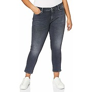 7 for all mankind roxanne ankle jeans, gris,...