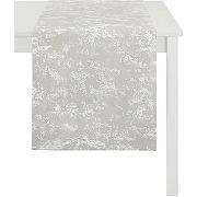 Apelt chemin de table, polyester, beige, 45 x...