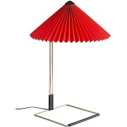 Hay lampe de table matin - rouge