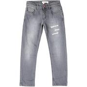 Pantalon en jean manila grace fille. gris. 4...