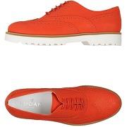 Chaussures à lacets hogan femme. rouge. 34.5 -...