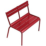 Banc enfant luxembourg - 67 rouge coquelicot