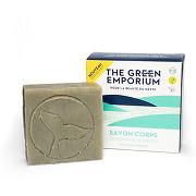 The green emporium soin corps savon amande