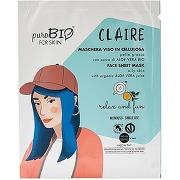 Purobio masque visage masque en cellulose peau...