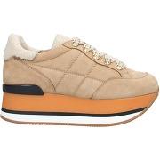 Sneakers & tennis basses hogan femme. beige....
