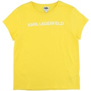 T-shirt karl lagerfeld garçon. jaune. 10...