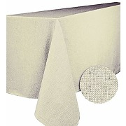 Calitex nappe rectangulaire, polyester, ecru,...