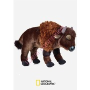 Peluche bison national geographic