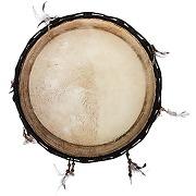 Bsx tambour de chaman indien