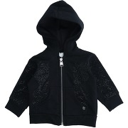 Sweat-shirt microbe by miss grant fille. noir....