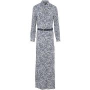 Coral mosaic shirt dr robe longue michael...