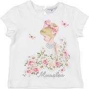 T-shirt monnalisa fille. blanc. 6 livraison...