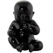 Statue little baby noire