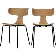Form - 2 chaises design empilables