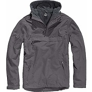 Brandit windbreaker jacket, grau (anthrazit 5),...
