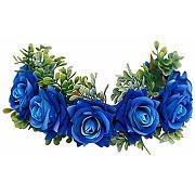 Beaupretty fleur rose serre-tête couronne...