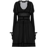 Robe courte dsquared2 femme. noir. s livraison...
