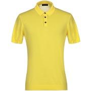 Pullover roberto collina homme. jaune. 42...