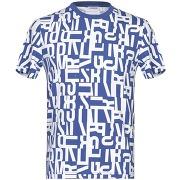 T-shirt bikkembergs homme. bleu électrique. xs...