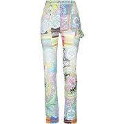 Pantalon en jean versace femme. bleu ciel. 26...