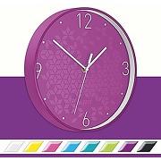 Leitz wow horloge murale quartz, idéale pour le...