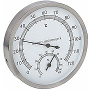 Fditt 2 en 1 en acier inoxydable thermomètre...