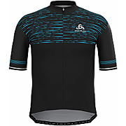 Maillot manches courtes zip odlo zeroweight...